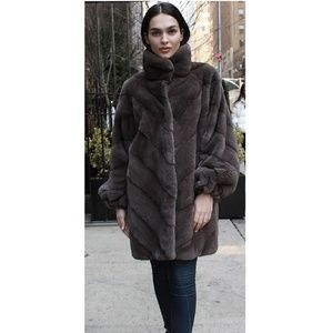 782804f1e0 Marc Kaufman Furs · Demi cross mink fur coats